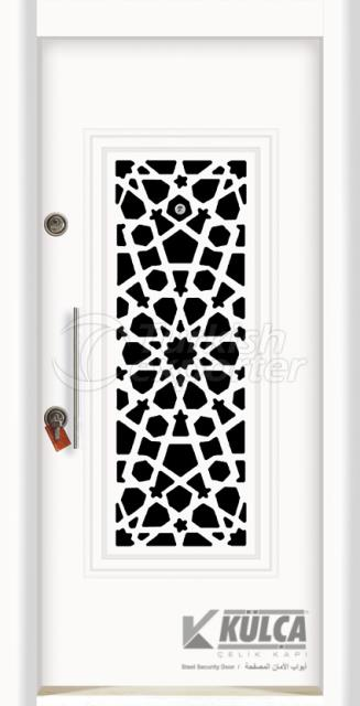 Z-9062 Exclusive Steel Door